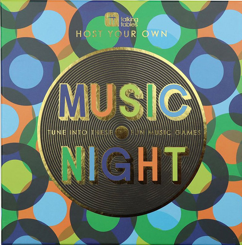GAME REVIEW: Music Night Board Game 1