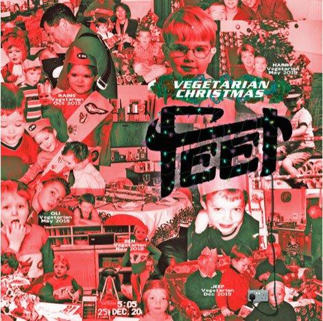 FEET Share New Single 'Vegetarian Christmas' - Watch Now