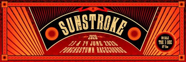 SUNSTROKE 2020 – Irelands New Alternative Rock Festival - Day by Day Artist Line-up Confirmed