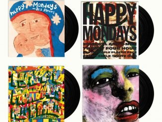 WIN: copies of HAPPY MONDAYS first four era-defining albums on vinyl