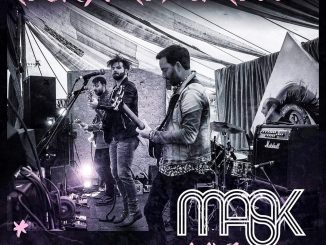 Belfast-based rockers MASK release belting new live album 'Rock, Drop & Roll'