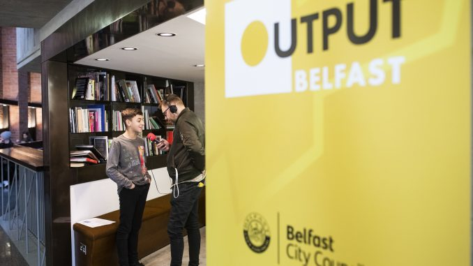 Output Conference 2020 @ The Mac Theatre, Belfast 8