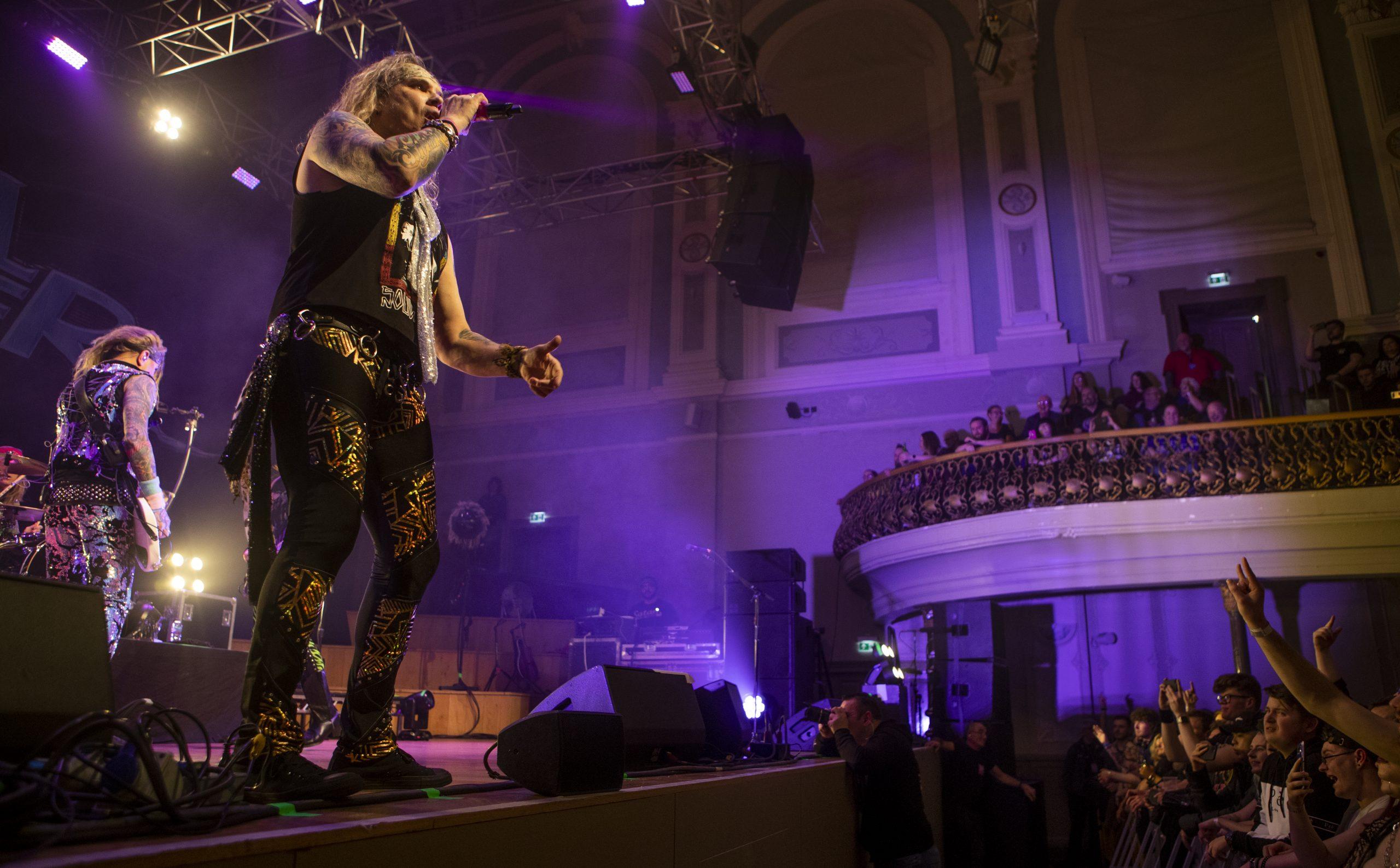 IN FOCUS: Steel Panther @ Ulster Hall, Belfast Aiken