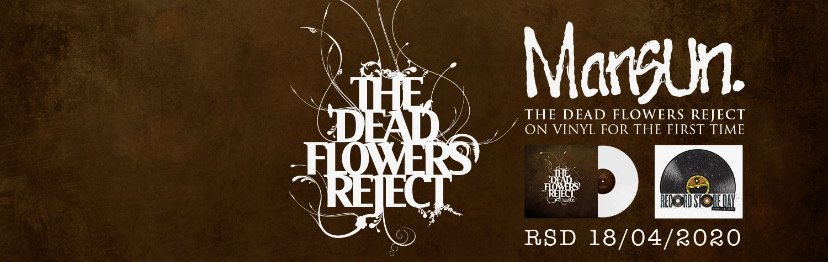 British Legends MANSUN'S, Alter-Ego Album THE DEAD FLOWERS REJECT To Be Released on Vinyl for UK Record Store Day