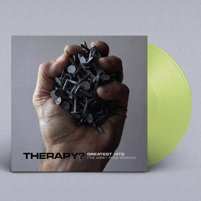 "THERAPY? album Greatest Hits (2020 Versions) on limited edition Translucent Green 12"" vinyl"