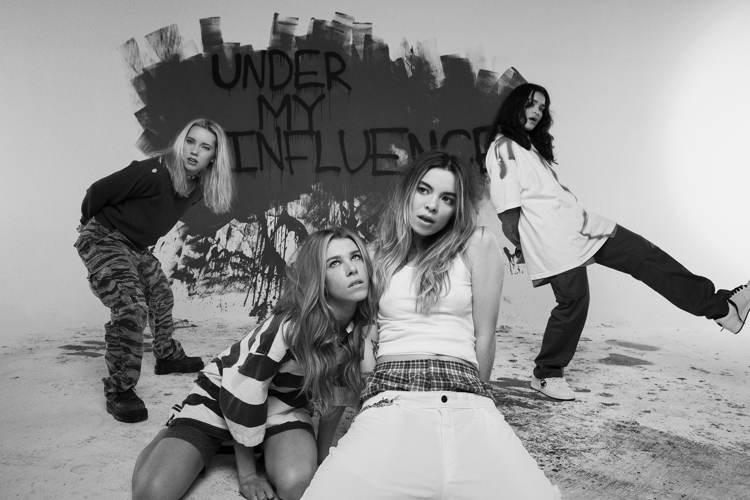 THE ACES announce sophomore album 'Under My Influence' - out 12th June