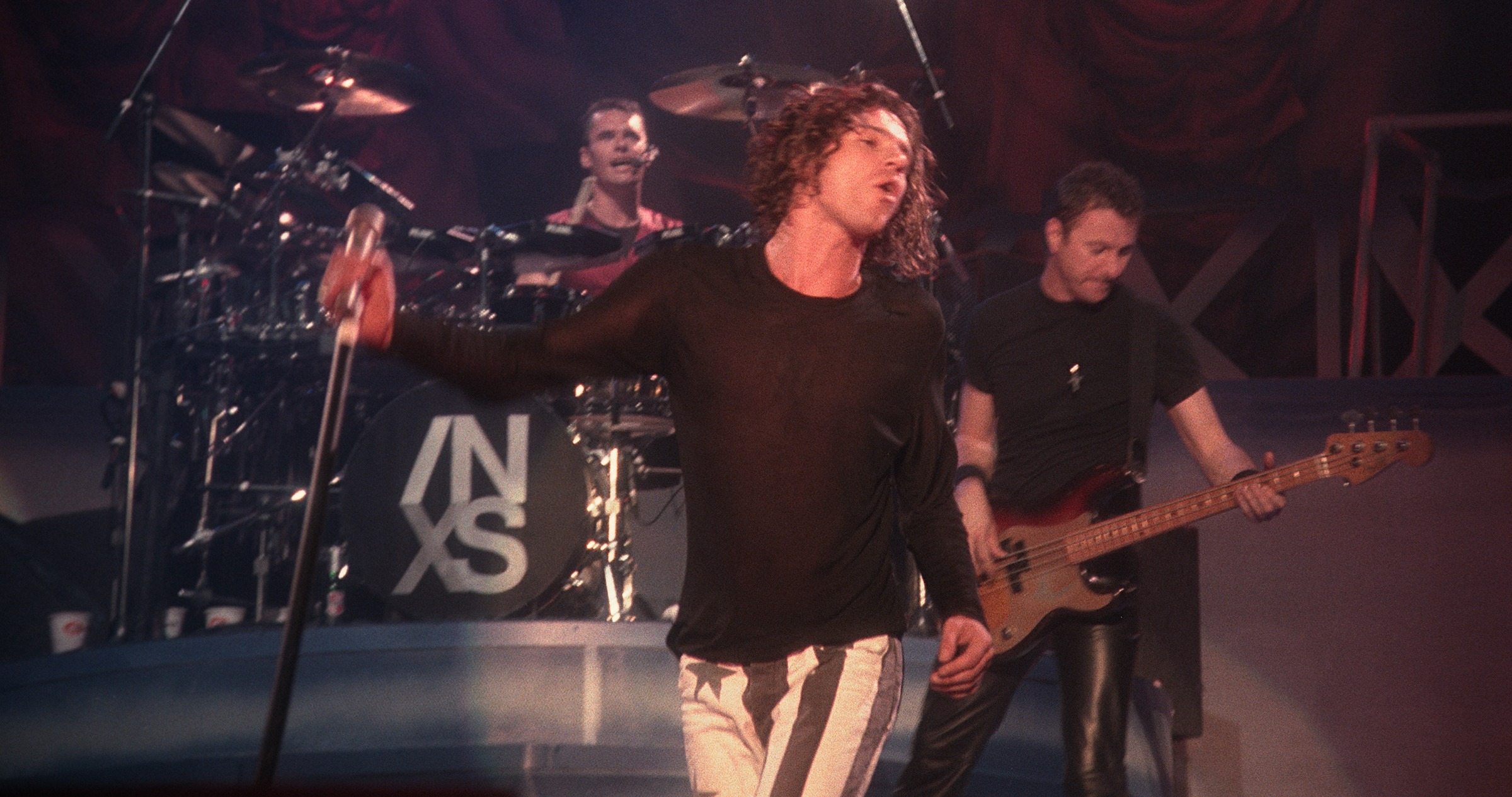 INXS announce the release of 'Live Baby Live' in 4K Ultra High Definition on June 26th 1