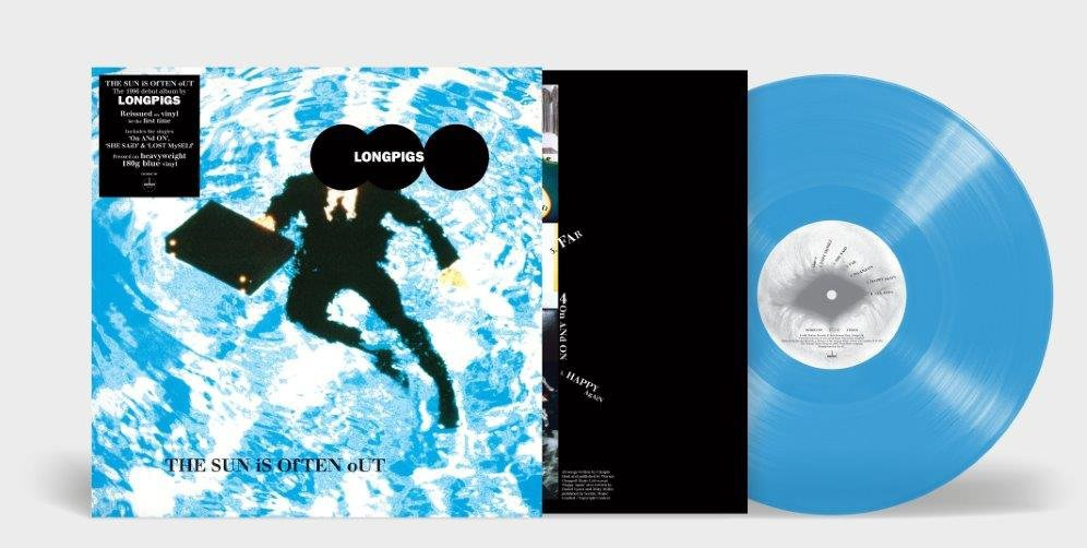 Reissue of LONGPIGS 'The Sun Is Often Out' on blue vinyl  - out 5th June 3
