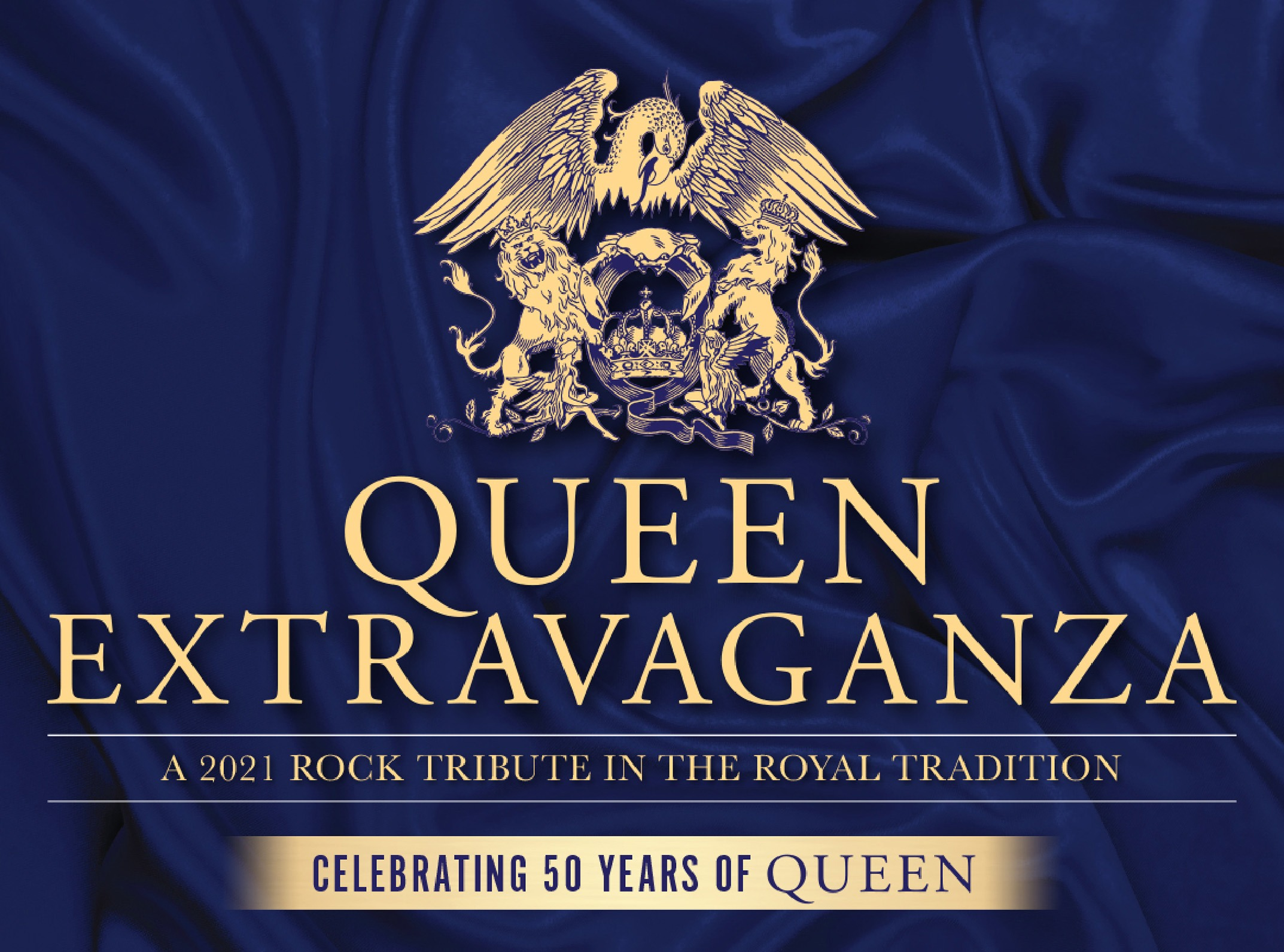 QUEEN EXTRAVAGANZA, the official Queen tribute band returns to Waterfront Hall, Belfast on 1st April 2021 1