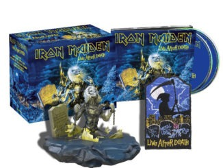IRON MAIDEN announce remastered live collection 2