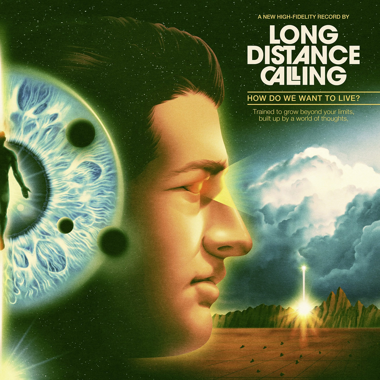 ALBUM REVIEW: Long Distance Calling - How Do We Want to Live?