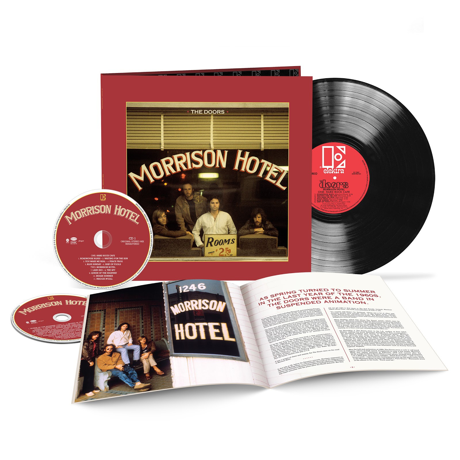 THE DOORS celebrate 50th anniversary of 'Morrison Hotel' with special deluxe edition release
