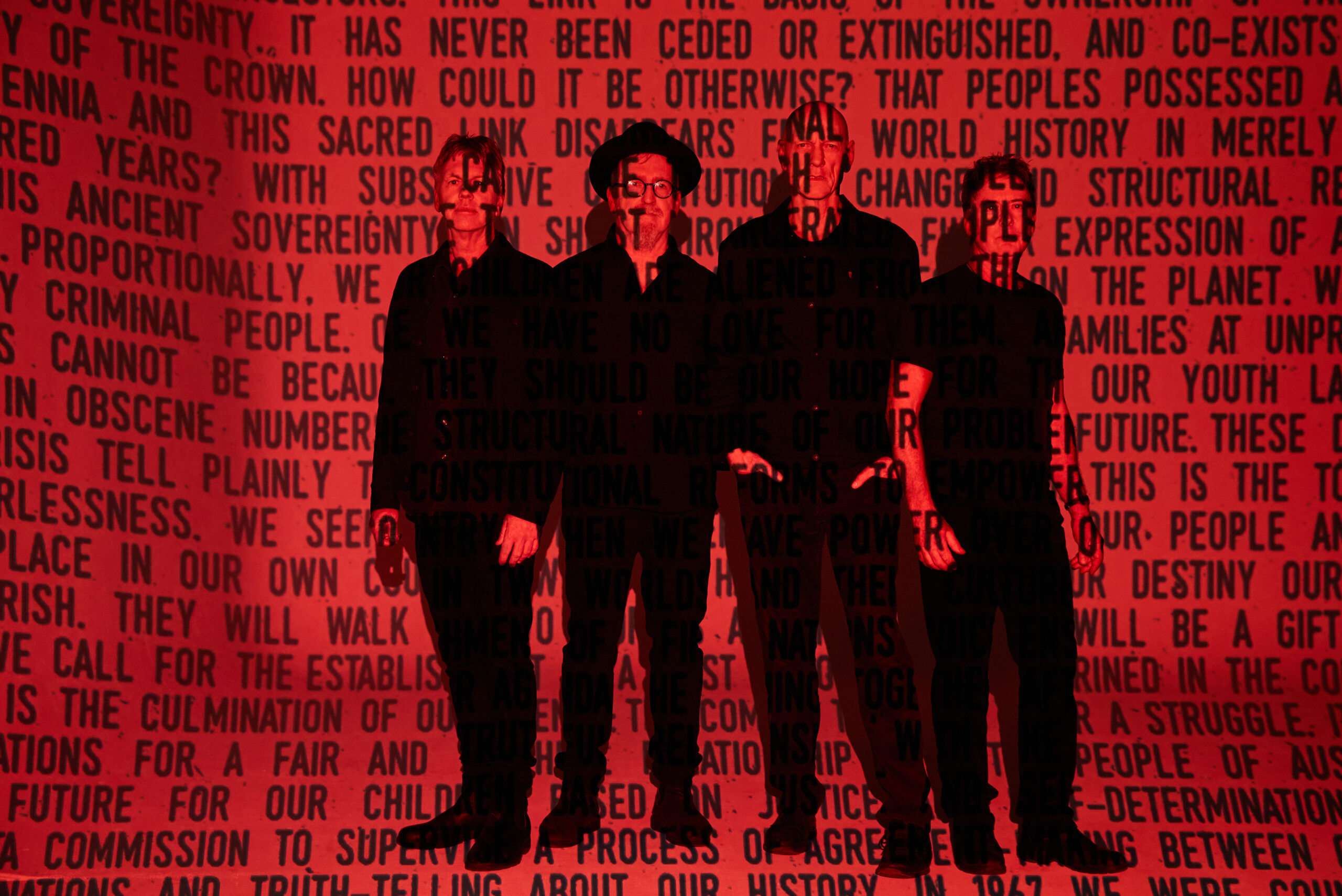 MIDNIGHT OIL announce brand new mini-album THE MAKARRATA PROJECT - out October 30th
