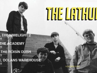 THE LATHUMS announce a headline Belfast show at The Limelight 2 on Tuesday 8th June 2021