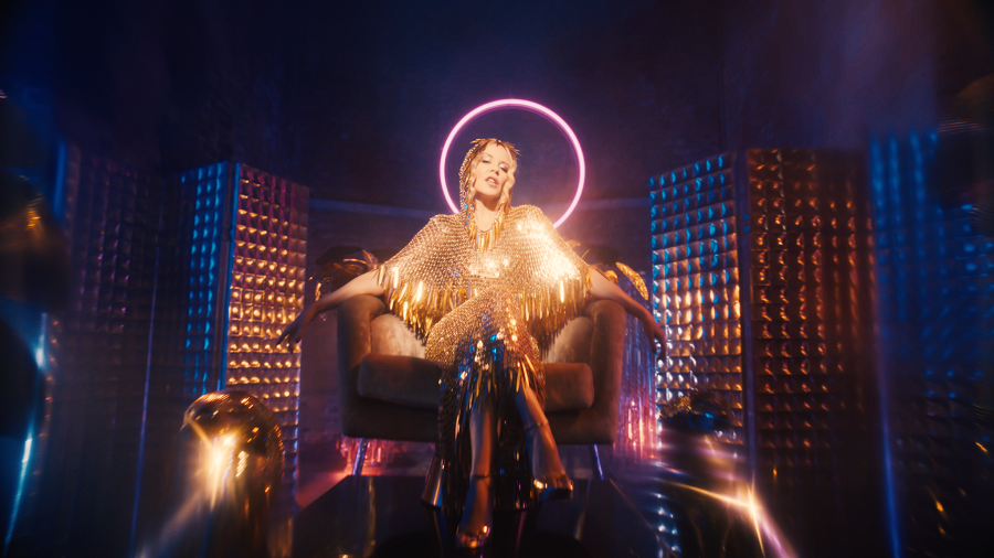 KYLIE shares the video for brand new single 'Magic' - Watch Now