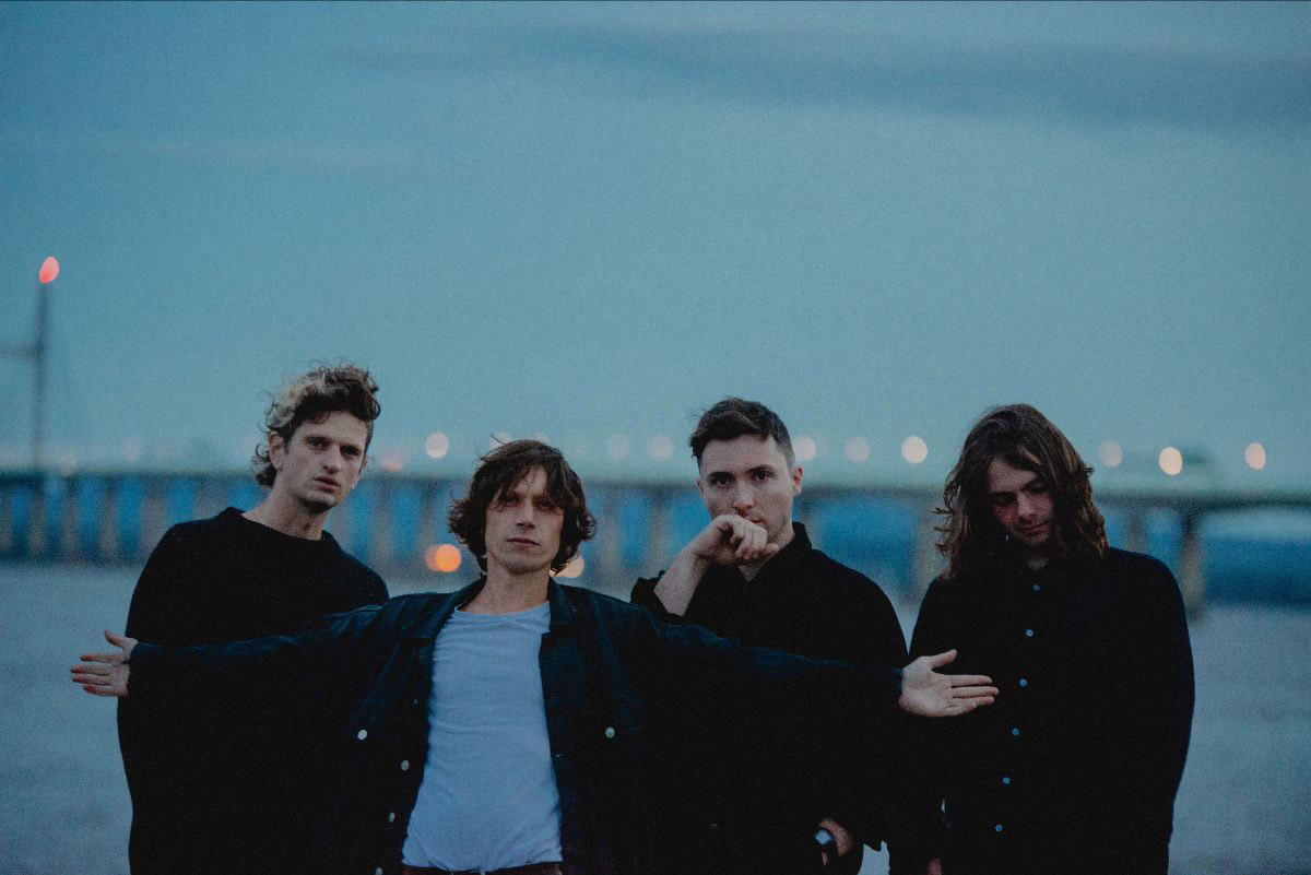 OCTOBER DRIFT release video for 'Like The Snow We Fall'