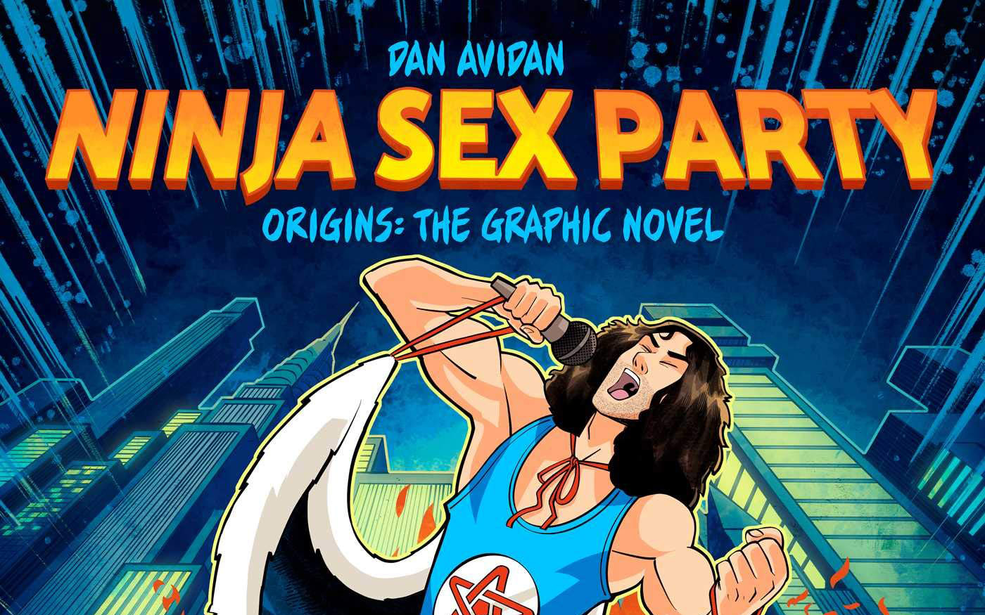 BOOK REVIEW: Ninja Sex Party Origins: The Graphic Novel