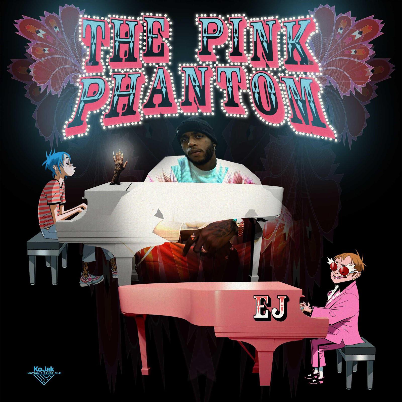 Elton John & 6LACK join GORILLAZ for 'The Pink Phantom' - Watch Now!
