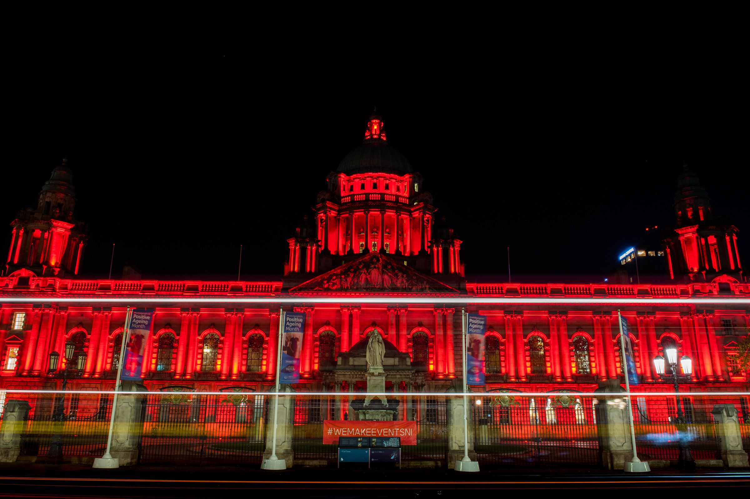 Northern Ireland Venues LIGHT UP RED To Support Global Day of Action 1