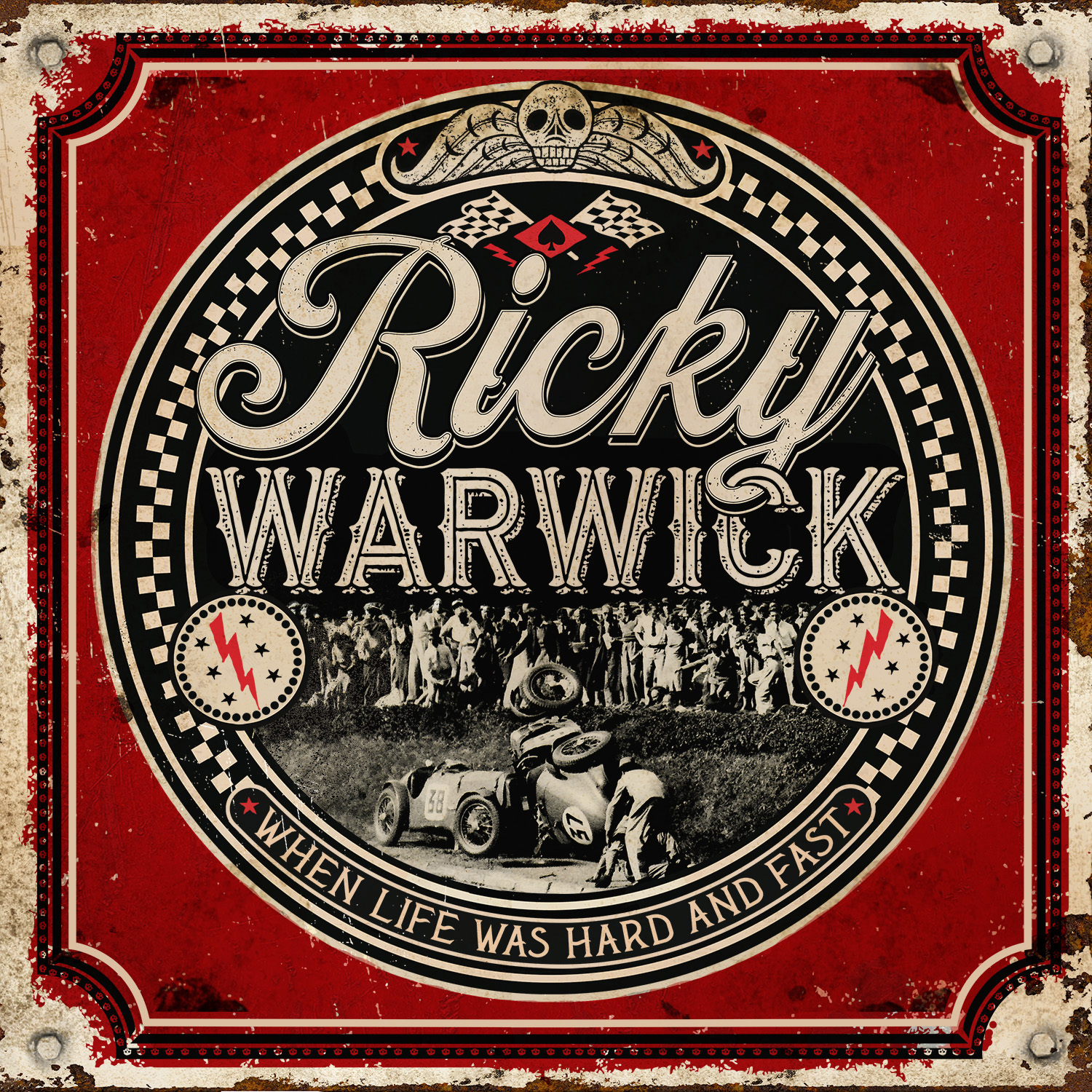 RICKY WARWICK Announces New Album 'When Life Was Hard And Fast' - Watch video for 'Fighting Heart'