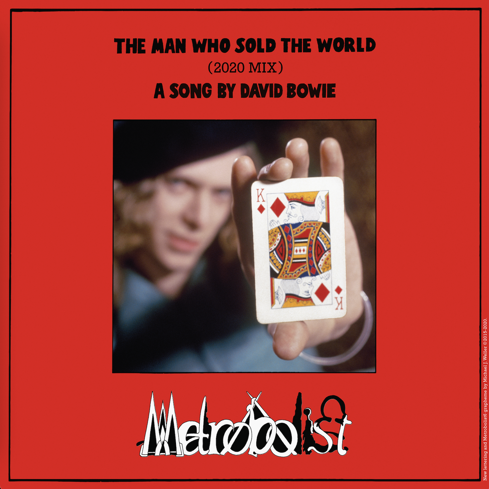 Listen to DAVID BOWIE's 'The Man Who Sold The World (2020 mix)' 1