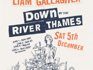 LIAM GALLAGHER announces exclusive live stream gig 'Down By The River Thames' on Saturday, December 5th