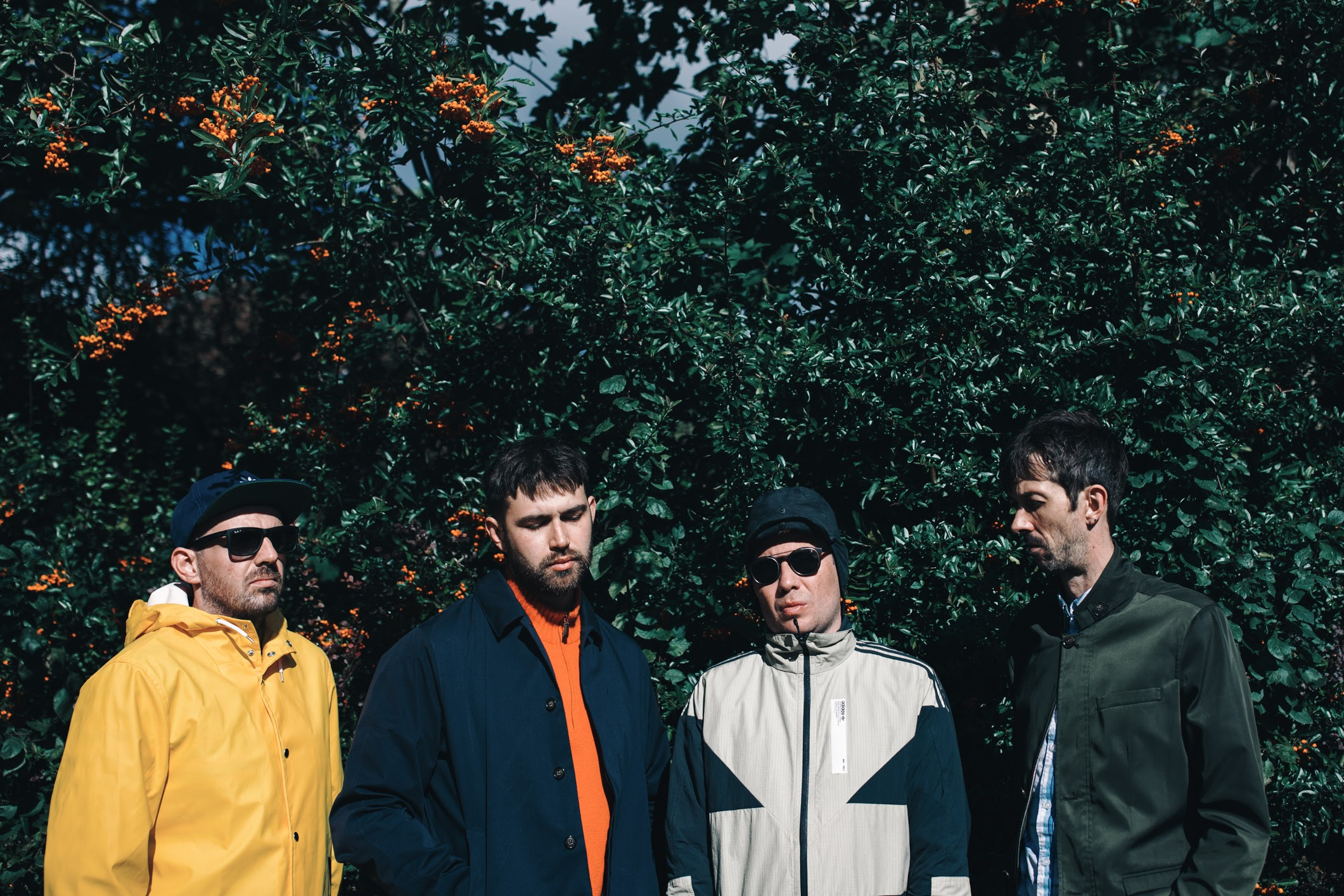 Manchester-based quartet VENTRELLES share video for new single 'County Lines'