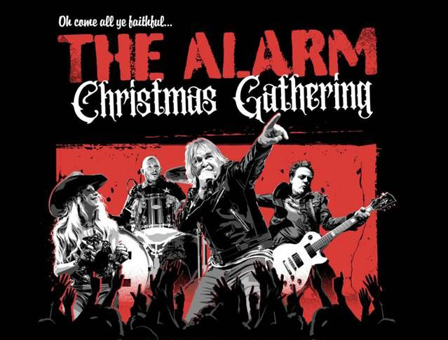 THE ALARM announce their 'CHRISTMAS GATHERING 2020' geo-synchronised online global concert
