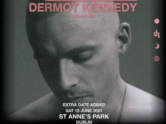 DERMOT KENNEDY announces additional show at St. Annes's Park Dublin on Saturday 12th June 2021 1