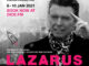 The London production of LAZARUS live-stream announced to celebrate David Bowie's birthday & commemorate the 5th anniversary of his death