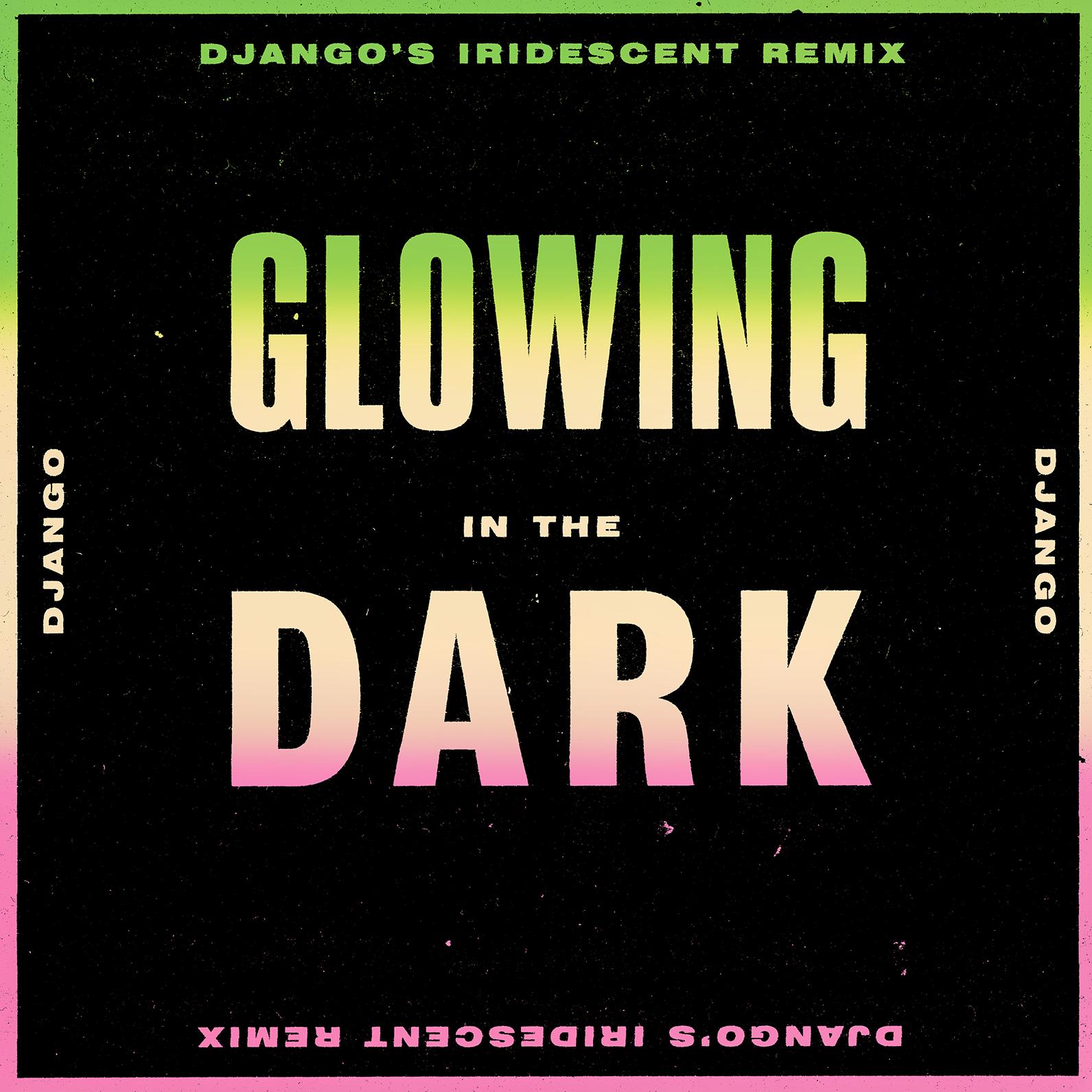 DJANGO DJANGO unveil 'Iridescent remix' of 'Glowing in the Dark' - Watch Video 1