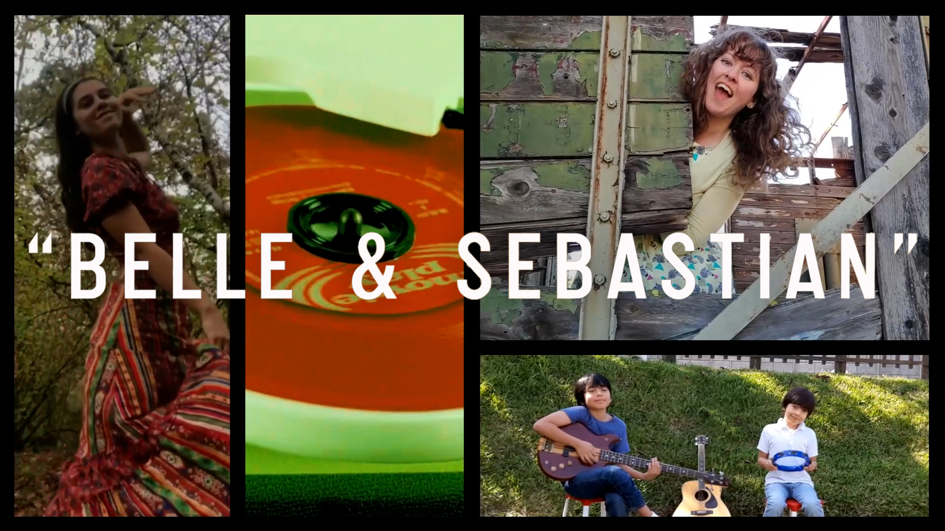 BELLE AND SEBASTIAN release fan sourced lip-sync video for the song 'Belle and Sebastian' 1