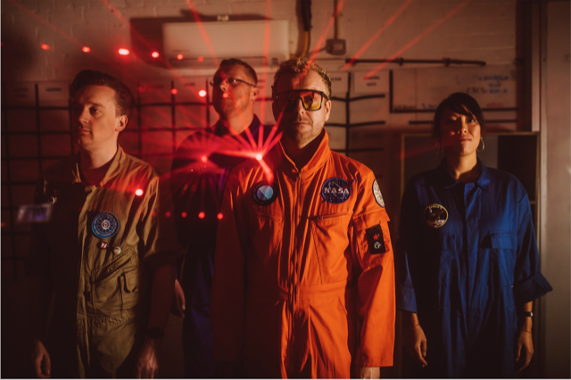 HELLO COSMOS unveil one final track 'Renegade Love' from debut album 'Dream Harder' - out 29 January 1