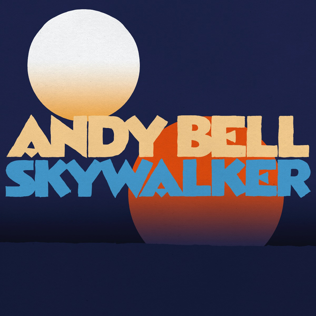 Ride guitarist/singer ANDY BELL releases new single 'Skywalker' - Watch the video by Jean De Oliviera