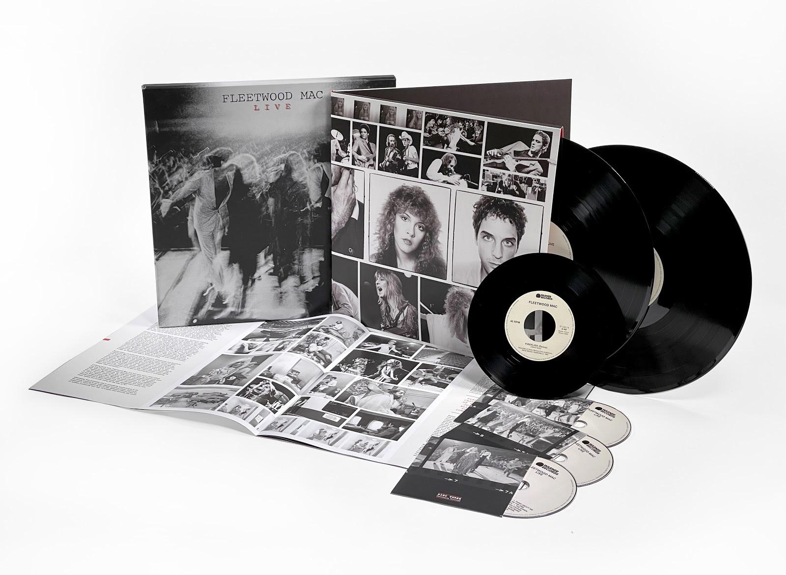 FLEETWOOD MAC - Live Super Deluxe Announced - Hear Unreleased Live Version Of 'The Chain'