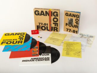 GANG OF FOUR announce 77-81 box set - out March 12th