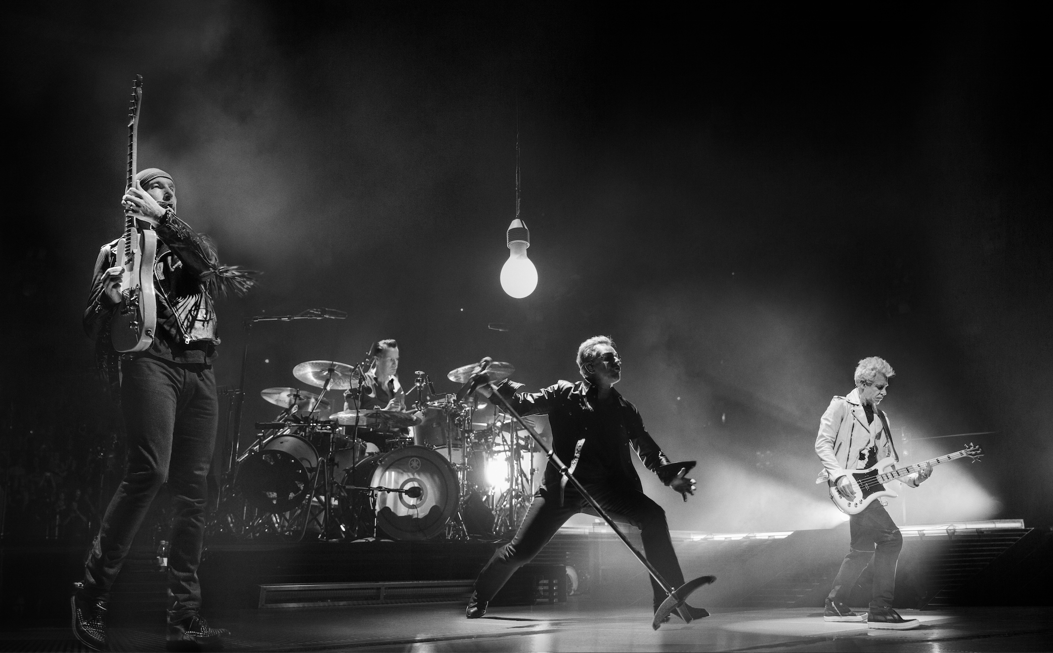 U2 announce 'U2: The Virtual Road' - a series of four concerts broadcast for the first time exclusively on the band's YouTube channel 2