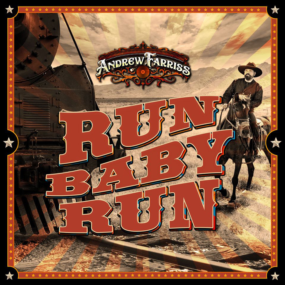 ANDREW FARRISS releases video for new single 'Run Baby Run' - Watch Now!
