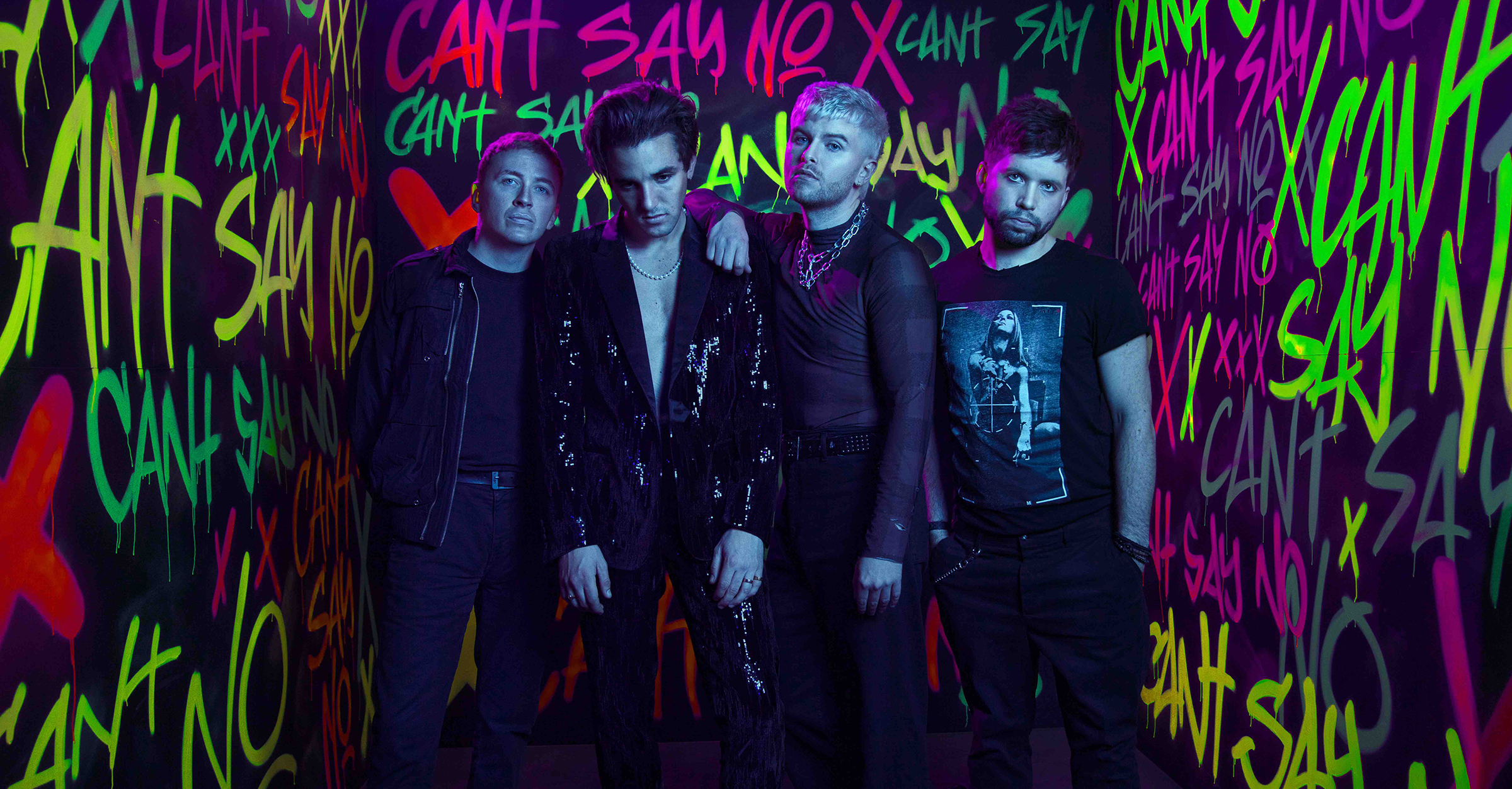 WILD YOUTH share new single 'Can't Say No' - Listen Now!