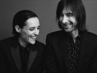 BOBBY GILLESPIE & JEHNNY BETH announce new collaborative album 'Utopian Ashes' - Out July 2nd 1