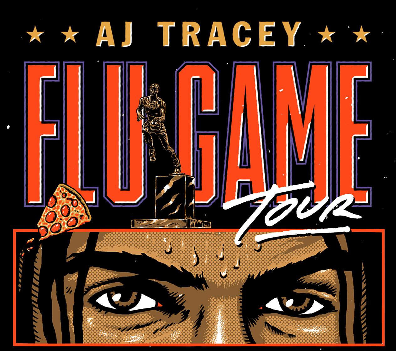 AJ TRACEY announces UK & Ireland arena 'FLU GAME TOUR' for November 2021