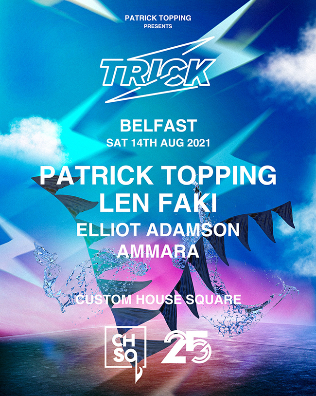 25 YEARS OF SHINE PATRICK TOPPING PRESENTS
