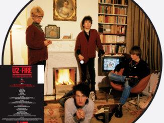 U2 announce 'Fire' 40th anniversary release for record store day 1
