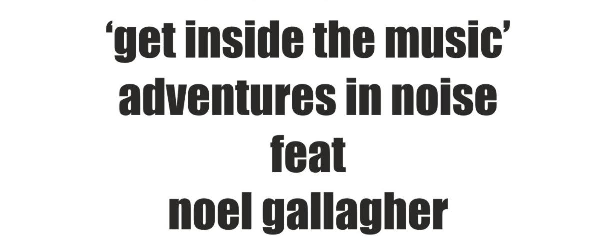 Adventures in Noise
