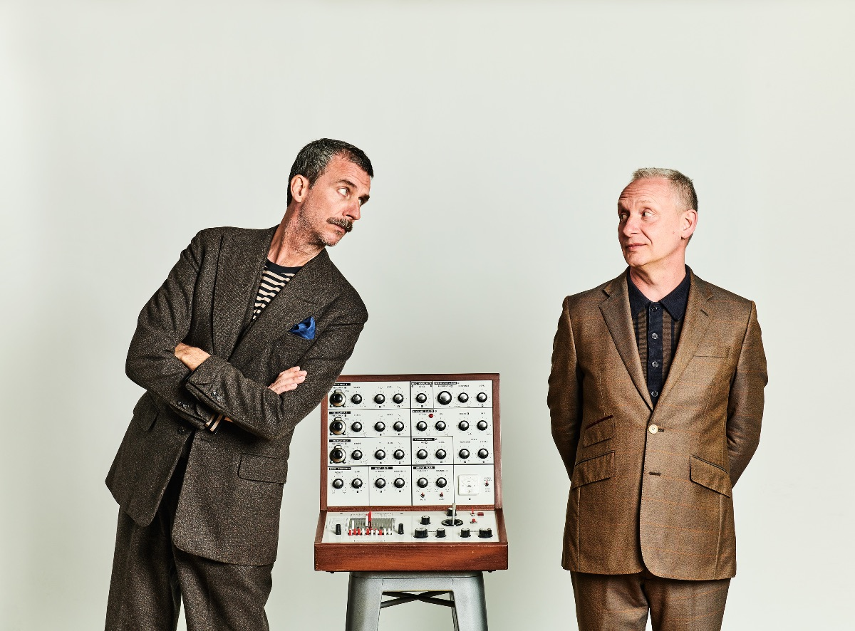 Paul Hartnoll & Poet Murray Lachlan Young